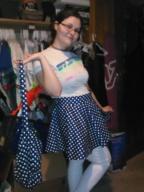 Matching Skirt and bag