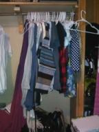 Loving my tiny closet